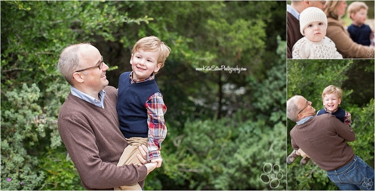Beautiful images of a family session by Katie Eaton Photography in Austin, Texas