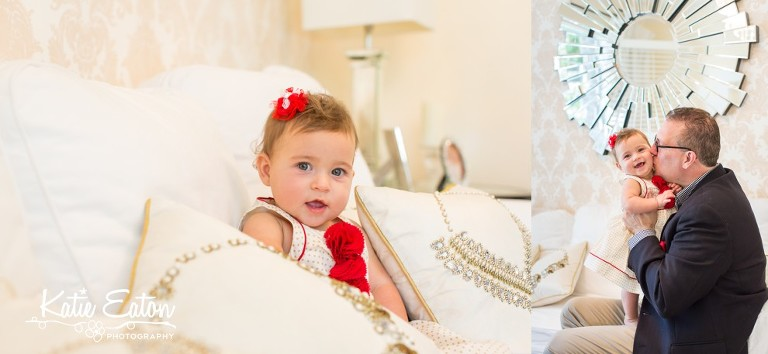 Beautiful images from a lifestyle family session in Austin, Texas by Katie Eaton.