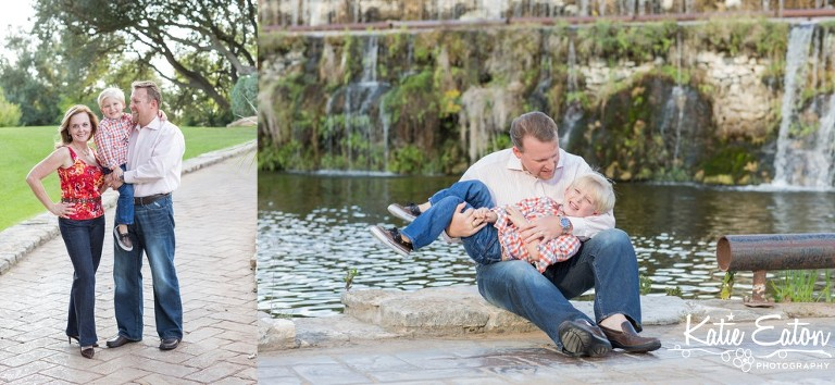 Beautiful images of a family in Marble Falls, Texas by Katie Eaton.