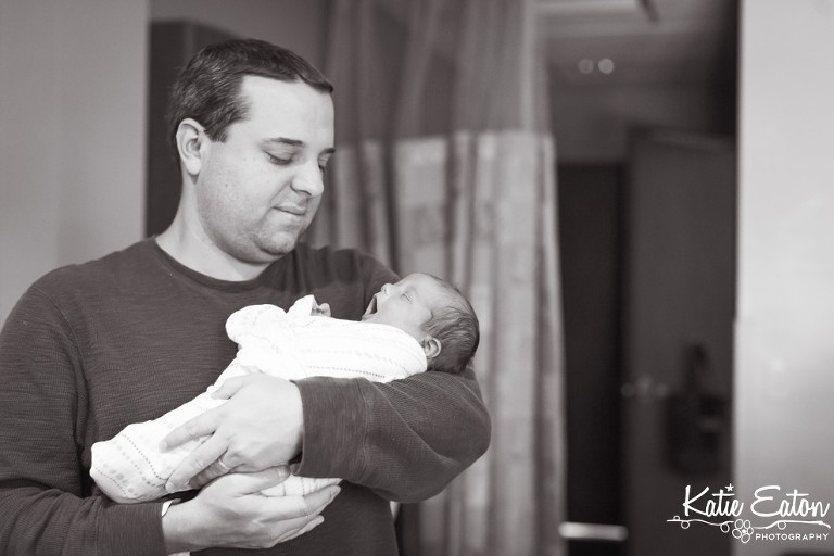 Beautiful images of a newborn taken in the hospital by Katie Eaton Photography-3
