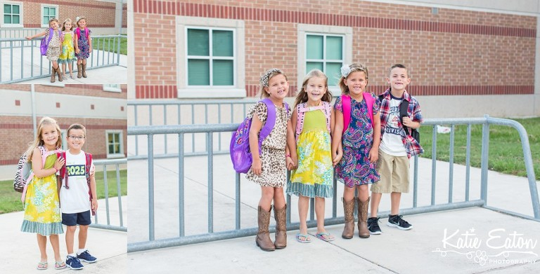 Fun images of a child on the first day of school by Katie Eaton-6