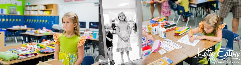 Fun images of a child on the first day of school by Katie Eaton-8