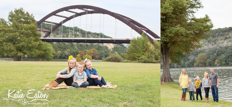 Beautiful images of a family by the Pennybacker Bridge by Katie Eaton Photography-2