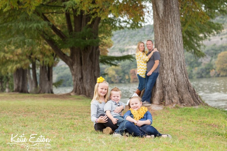 Beautiful images of a family by the Pennybacker Bridge by Katie Eaton Photography-5
