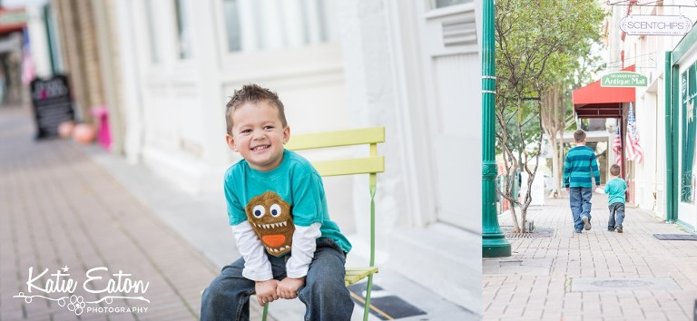 Beautiful images of a family in downtown Georgetown by Katie Eaton Photography-2
