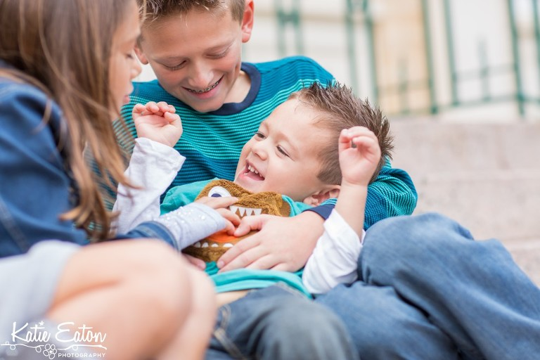 Beautiful images of a family in downtown Georgetown by Katie Eaton Photography-7