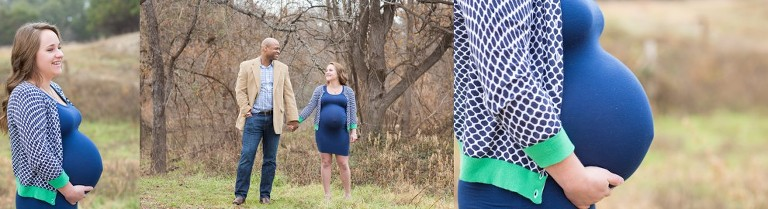 Beautiful images from a maternity session at Brushy Creek by Katie Eaton Photography-7