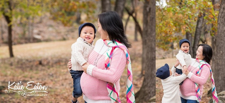 Beautiful images from a maternity session in Austin, Texas by Katie Eaton Photography-2
