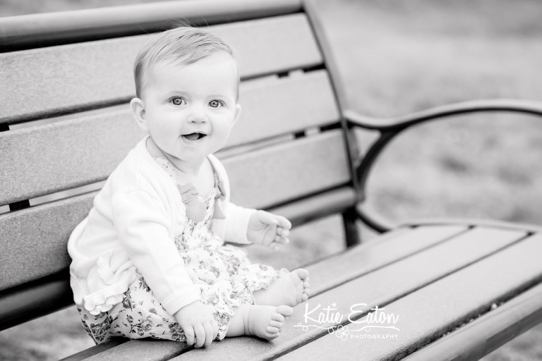 Fun images of a six month old at champions park | Austin Child Photographer | Katie Eaton Photography-4