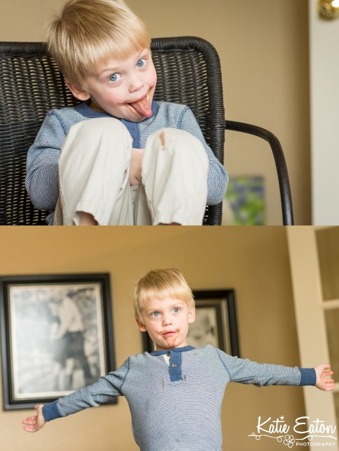 Fun images of a three year old at home | Austin Child Photographer | Katie Eaton Photography-1