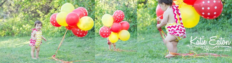 Beautiful images from a cake smash | Austin Family Lifestyle Photographer | Katie Eaton Photography-2