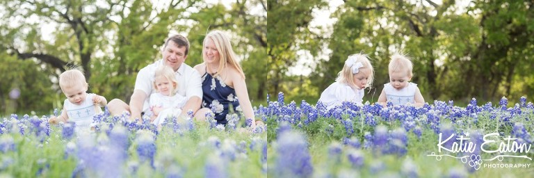 Beautiful images of a family in the bluebonnets  in Austin by Katie Eaton Photography-2