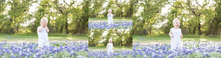 Beautiful images of a family in the bluebonnets  in Austin by Katie Eaton Photography-5