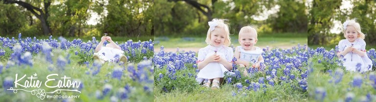 Beautiful images of a family in the bluebonnets  in Austin by Katie Eaton Photography-8