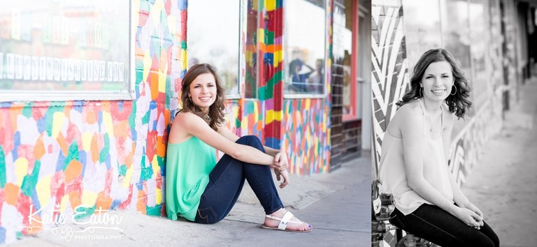 Beautiful images of a high school senior in downtown Austin by Katie Eaton Photography-7