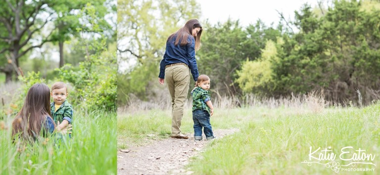 Beautiful images of a mother and son at brushy creek lake park by Katie Eaton Photography-1