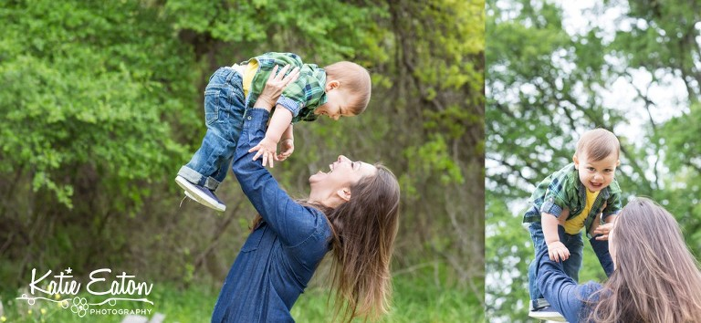 Beautiful images of a mother and son at brushy creek lake park by Katie Eaton Photography-5