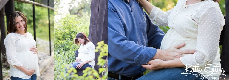 Beautiful images from a maternity session on brushy creek | Austin Maternity Photographer | Katie Eaton Photography-2