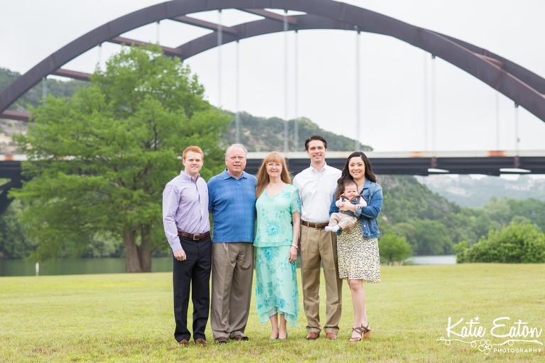 Beautiful images from a lifestyle family session at the 360 bridge | Austin Family Lifestyle Photographer | Katie Eaton Photography-1