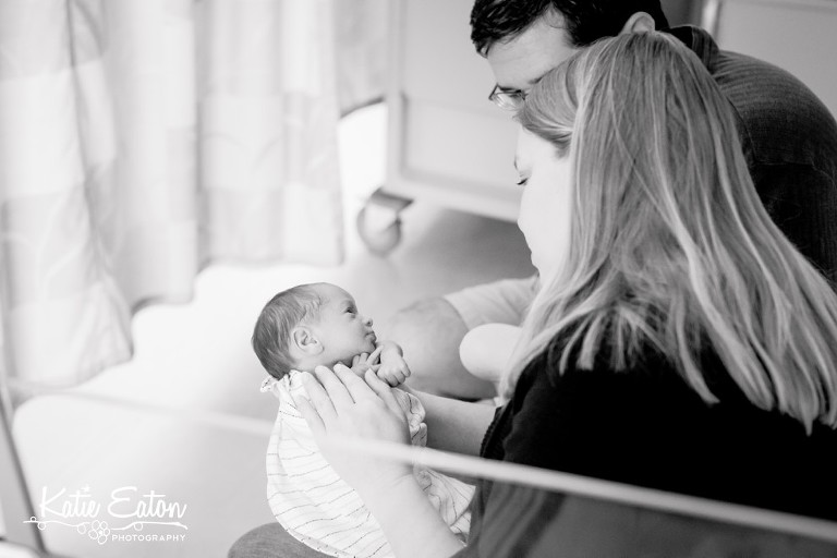 Beautiful images from a newborn session in Austin | Austin Newborn Photographer | Katie Eaton Photography-7