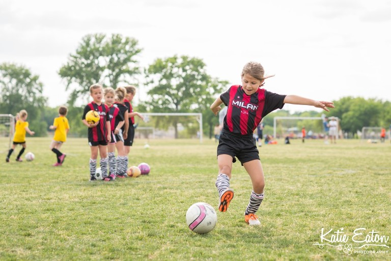 Fun images from children playing soccer | Austin Child Photographer | Katie Eaton Photography-1