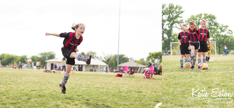Fun images from children playing soccer | Austin Child Photographer | Katie Eaton Photography-5