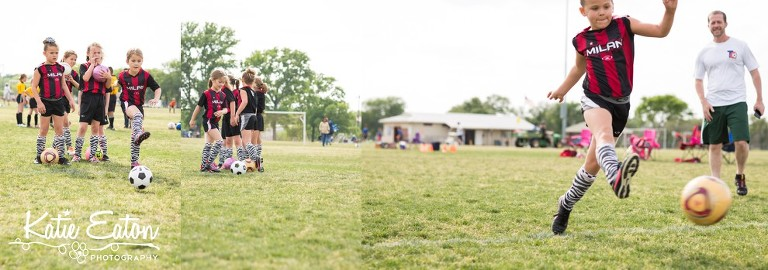 Fun images from children playing soccer | Austin Child Photographer | Katie Eaton Photography-6