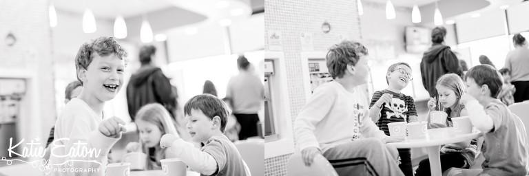 Fun images of children enjoying Orange Leaf   Austin Child Photographer   Katie Eaton Photography-3