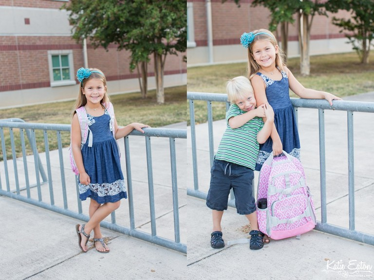 Fun images of children having fun on the first day of school by Katie Eaton Photography-1