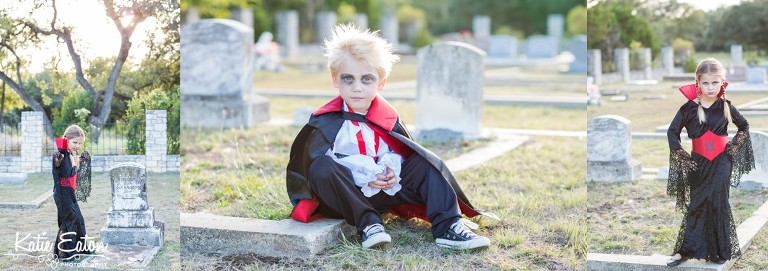 Fun images of vampires on halloween by Katie Eaton Photography-2