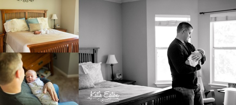 Beautiful images from a lifestyle newborn session in Austin | Austin Newborn Photographer | Katie Starr Photography-1