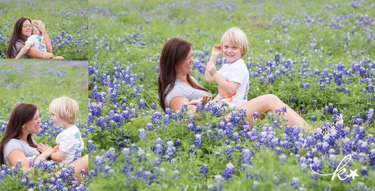 Beautiful images from a bluebonnet family session in Austin | Austin Family Photographer | Katie Starr Photography-8