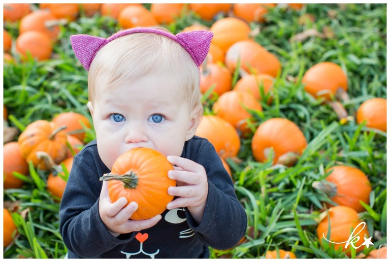 Fun images from a pimpkin patch mini session by Katie Starr Photography-1