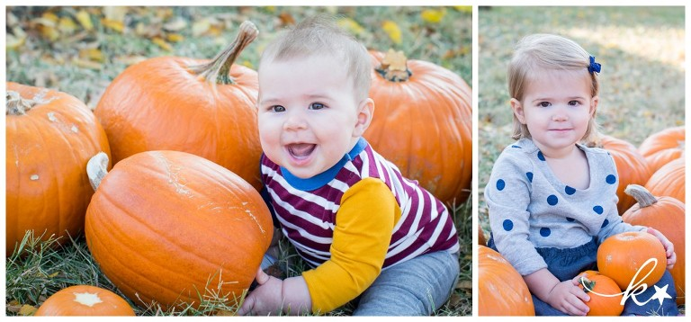 Fun images from a pimpkin patch mini session by Katie Starr Photography-3