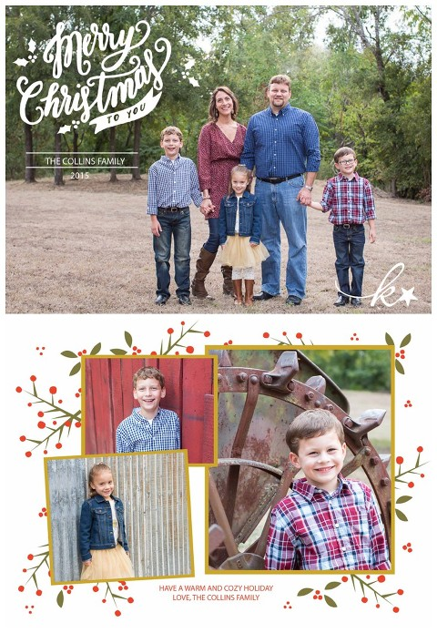 Christmas Card Designs by Katie Starr Photography