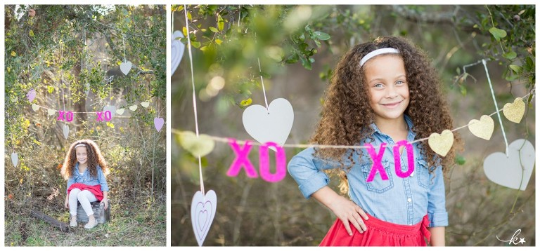 Beautiful images from a valentines day mini photo session in Austin | Austin Family Photographer | Katie Starr Photography-1