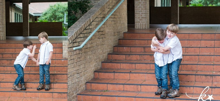 Fun images of siblings in downtown Austin by Katie Starr Photography -6