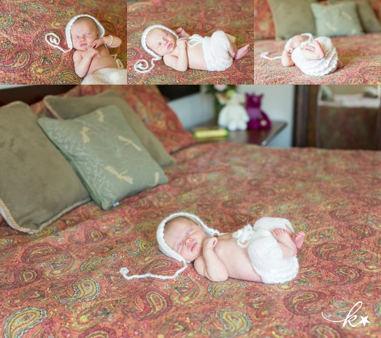 Beautiful images from a lifestyle newborn session in Austin by Katie Starr Photography -7
