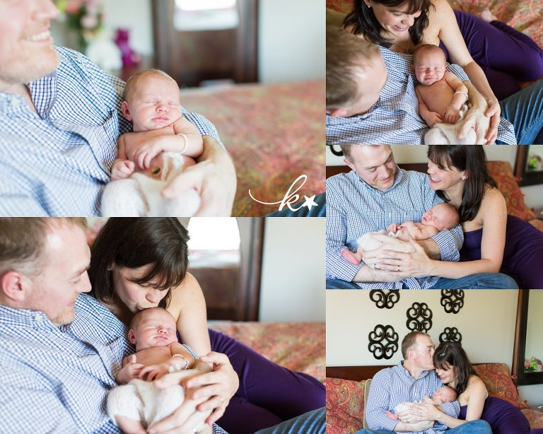 Beautiful images from a lifestyle newborn session in Austin by Katie Starr Photography -9