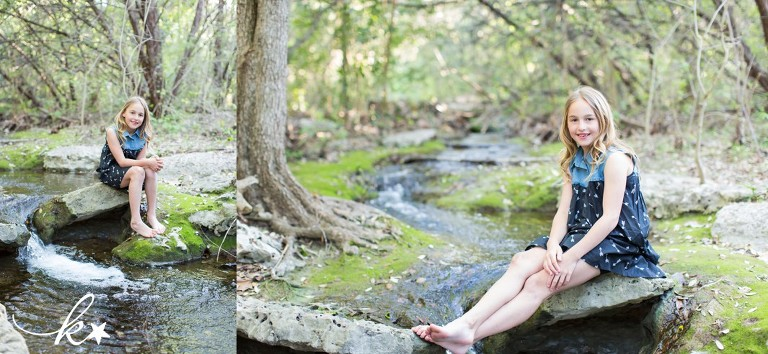 Fun images of a little girl playing in her backyard by Katie Starr Photography -4