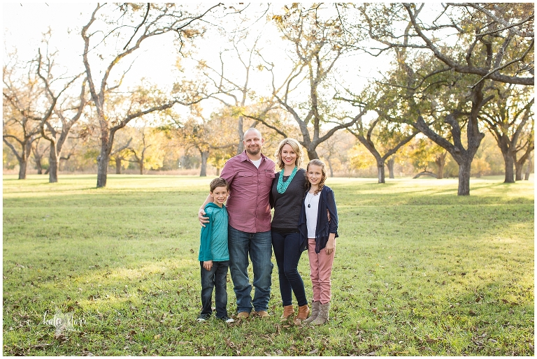 Beautiful images from a family photo session in Austin