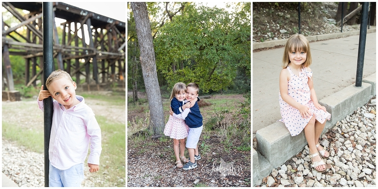 Image of a family. Katie Starr Photography. Best Georgetown Texas Photographer